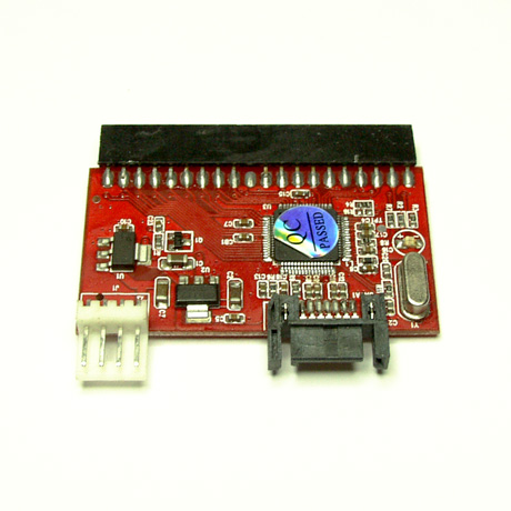 IDE (PATA) to SATA adapter, motherbord version