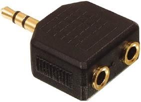 3,5 mm jack splitter