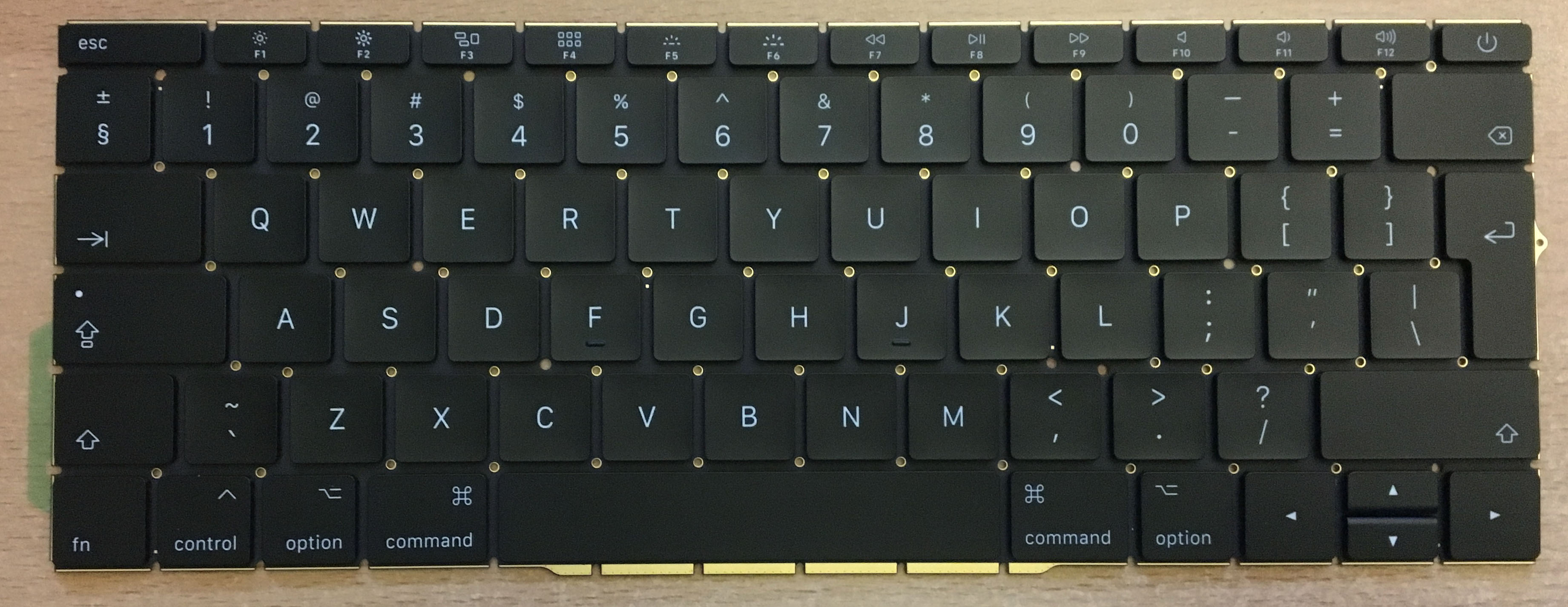 A1708 MacBook Pro Keyboard