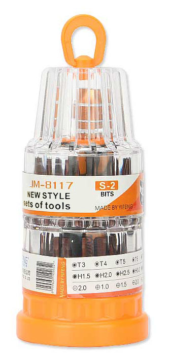 Jakemy 37 in 1 Screwdriver bits